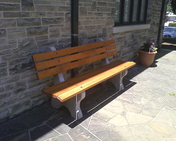Concrete Park Bench Outdoor Furniture Benches